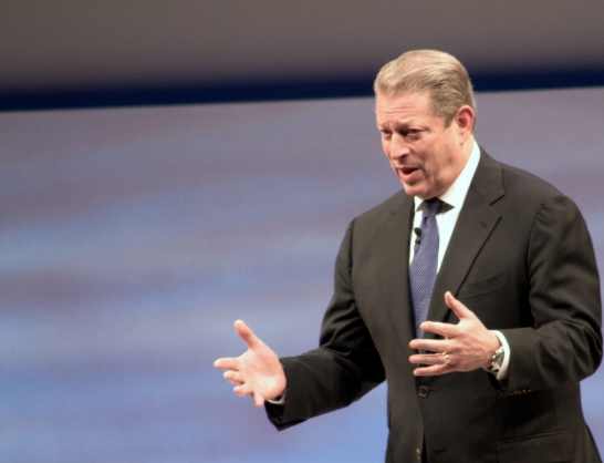 "Head of the global climate change cult, Al Gore, says ""God"" told him to fight global warming"